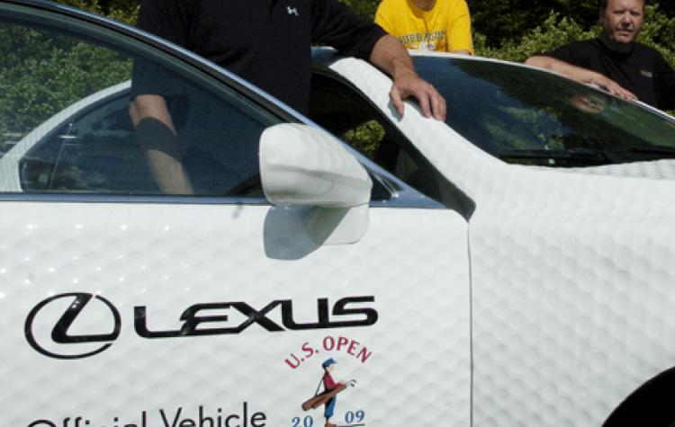 Innovations Lexus Golf Ball Car2